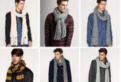 Как стильно завязать мужской шарф